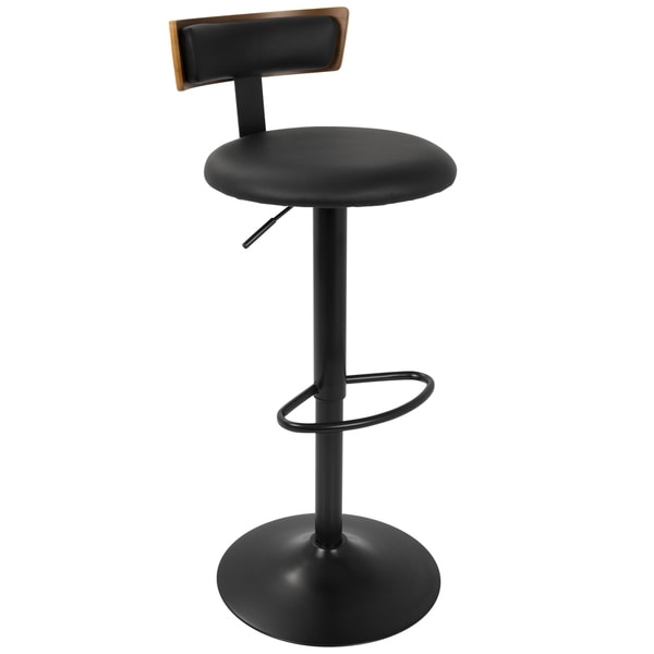 LumiSource Weller Contemporary Adjustable Bar Stool. Opens flyout.
