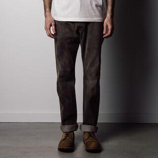 1791 Supply & Co Men's Brown Desert Rinse Denim Classic Leg Jeans