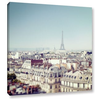Laura Marshall's 'Paris Moments VI' Gallery Wrapped Canvas