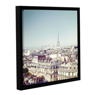 Laura Marshall's 'Paris Moments VI' Gallery Wrapped Floater-framed Canvas