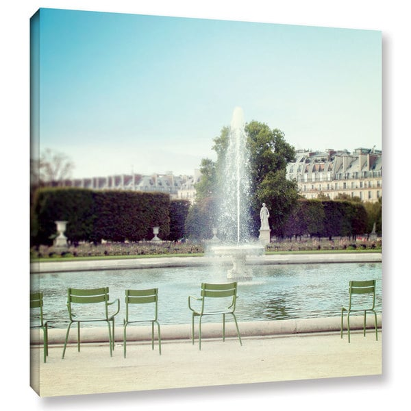 Laura Marshall's 'Paris Moments V' Gallery Wrapped Canvas