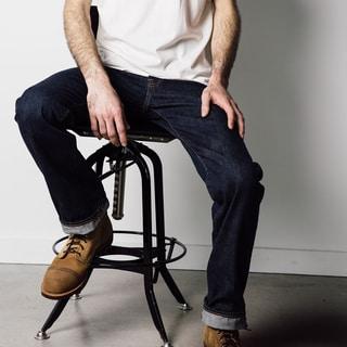 1791 Supply & Co Men's City Slicker Straight Leg Denim Jeans