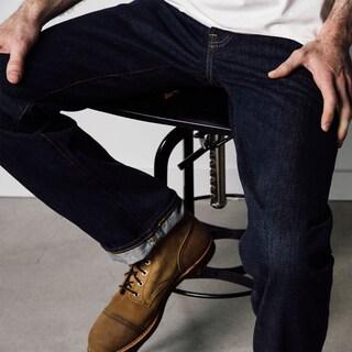 1791 Supply & Co Men's City Slicker Blue Denim Classic Leg Jeans