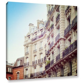 Laura Marshall's 'Paris Moments III' Gallery Wrapped Canvas