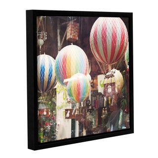 Laura Marshall's 'Paris Moments I' Gallery Wrapped Floater-framed Canvas