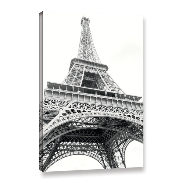 Laura Marshall's 'Eiffel Up Close' Gallery Wrapped Canvas
