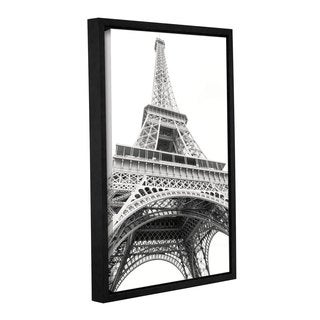 Laura Marshall's 'Eiffel Up Close' Gallery Wrapped Floater-framed Canvas