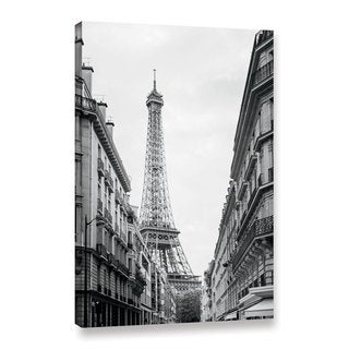 Laura Marshall's 'Eiffel Glimpse' Gallery Wrapped Canvas