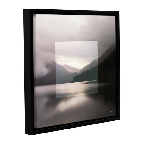 Laura Marshall's 'Framed Landscape II' Gallery Wrapped Floater-framed Canvas