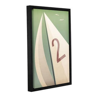 Ryan Fowler's 'Sails VIII' Gallery Wrapped Floater-framed Canvas