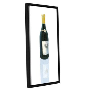 Marco Fabiano's 'Wine Stance IV' Gallery Wrapped Floater-framed Canvas