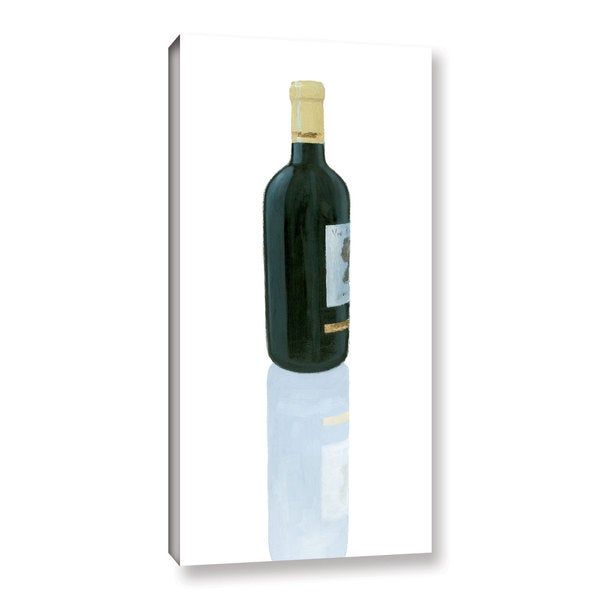Marco Fabiano's 'Wine Stance III' Gallery Wrapped Canvas - Green