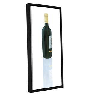 Marco Fabiano's 'Wine Stance III' Gallery Wrapped Floater-framed Canvas