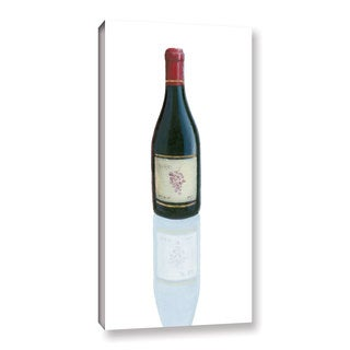 Marco Fabiano's 'Wine Stance I' Gallery Wrapped Canvas