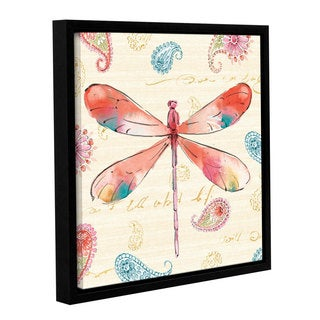 Studio Pela's 'Happy Gypsy VII' Gallery Wrapped Floater-framed Canvas