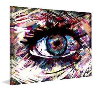 Marmont Hill Pat Spark 'Eye 3' Painting Print on Wrapped Canvas