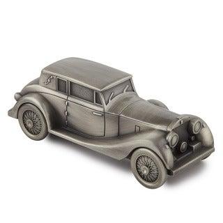 Elegance Antique Car Money Bank - Pewter Finish