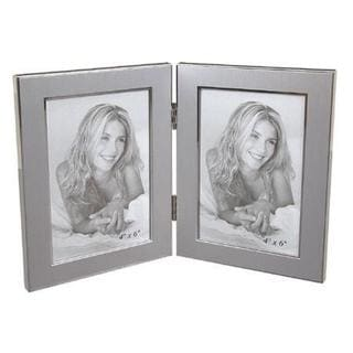 "Elegance 4 x 6"" Jolene Double Photo Frame"