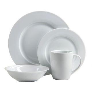 Oneida Naturally White Dinnerware 32-Pc Set Service for 8  sc 1 st  Overstock.com & Oneida Kitchen \u0026 Dining For Less | Overstock.com