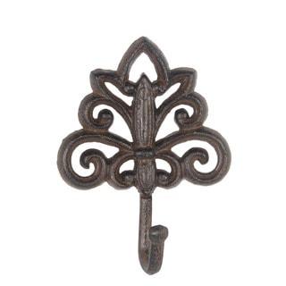 Privilege International Brown Metal Decorative Wall Hook