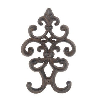 Privilege International Rust Brown Decorative Wall Hook