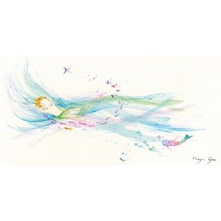 Marmont Hill - 'Sea of Love' by Maya Gur Painting Print on Wrapped Canvas