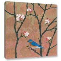 Katherine Lovell's 'Cherry Blossoms I' Gallery Wrapped Canvas