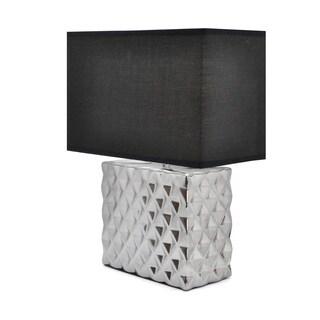 Urban Shop Square Metallic Lamp Shade
