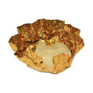 Brunei Brass Crinkle Bowl
