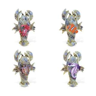 Puzzled Lobster Rockstone Refrigerator Magnets (Set of 4)