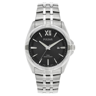 Pulsar Stainless Steel Japanese Quartz Men's Watch