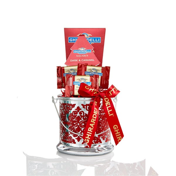 Ghirardelli Gift Candle Holder Free Shipping On Orders
