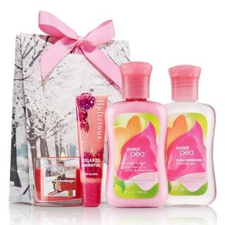 Sweet Pea Bath and Body Spa Set