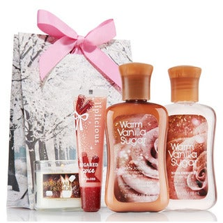 Vanilla Sugar Spa Set