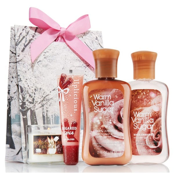 Vanilla Sugar Spa Set