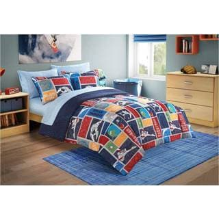 Space Stars Toddler 4-piece Bed in a Bag with Sheet Set