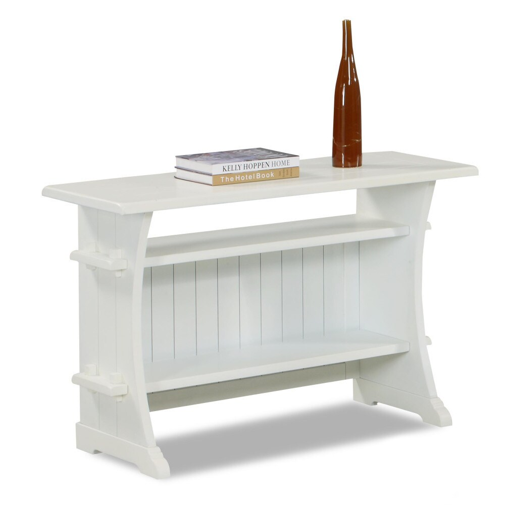 Klaussner Made to Order Santa Cruz Sofa Entryway Table (W...