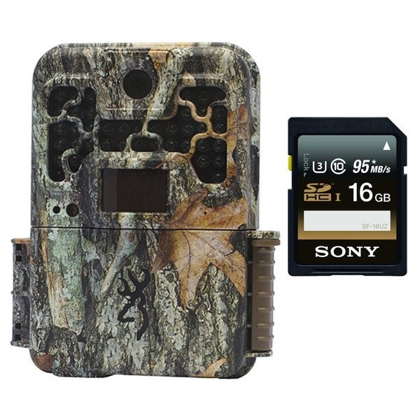 Browning RECON FORCE FHD PLATINUM BTC7FHDP Trail Game Camera (10MP) w/ Sony 16GB Memory Card