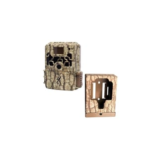 Browning Dark Ops Trail Camera with Browning Trail Camera Security Box
