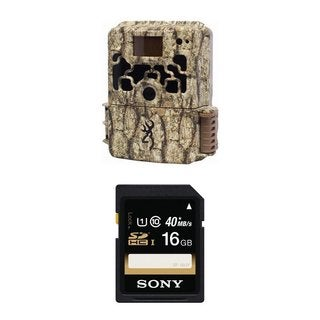 Browning DARK OPS HD BTC6HD Sub Micro Trail Camera with Sony 16GB SDHC Class 10 Memory Card