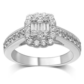 Unending Love 14k White Gold 1ct TDW Diamond Fashion Ring (I-J, I1-I2)