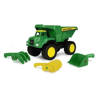 John Deere 15 Inch Big Scoop Dump Truck with Sand Tools