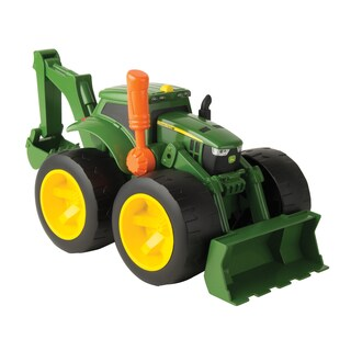 TOMY John Deere Monster Treads 2 Scoop Tractor