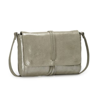 Jasbir Gill Women's Gold Leather Clutch (India)