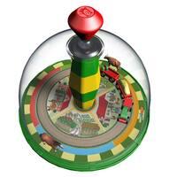 KSM Toys Happy Farm Electronic Top