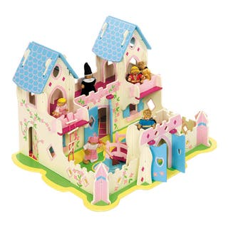 Heritage Wooden Playset Princess Cottage|https://ak1.ostkcdn.com/images/products/13402668/P20098412.jpg?impolicy=medium