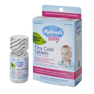 Hyland's Homeopathic Baby Tiny Cold Tablets - 125 Count