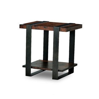 Made to Order Timber Forge End Table