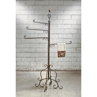 4 Arm Metal Swivel Rack
