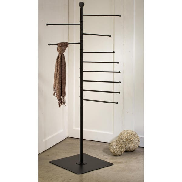 68 Inch Black 10 Arm Stand